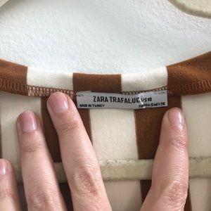 Zara Dresses - Zara Cotton Striped Tunic Dress
